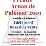 El Centre d'Estudis Riudomencs prepara el sopar i lliurament dels Premis Arnau de Palomar