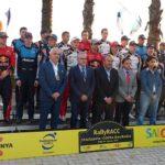 Pere Granados dona el tret de sortida a la 55a edició del RallyRACC Catalunya