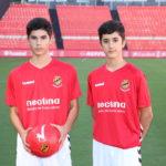 Nectina, nou patrocinador principal del futbol base del Nàstic