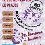 La caminada pel Massís de les Muntanyes de Prades arriba a la seva 20a edició