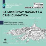 La Selva inicia un cicle de conferències i debat sobre el Canvi Climàtic
