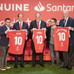 El Nàstic participa en la presentación de la 3ª temporada de LaLiga Genuine Santander