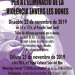 Torredembarra es prepara pel Dia internacional per a l'eliminació de la violència envers les dones