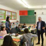 Pere Granados visita diversos centres educatius per donar la benvinguda a l'inici del curs 2019-2020