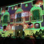 El mapping nadalenc del Morell, en vídeos
