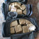Detingudes dues persones a Roda de Berà per tenir més de 50 quilos d'haixix