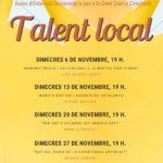 Les Aules de la Gent Gran del mes de novembre a Constantí aposten pel talent local
