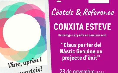 Conxita Esteve, protagonista dels Còctels and Reference