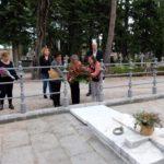Ofrena floral al Cementiri General de Reus, amb motiu de Tots Sants