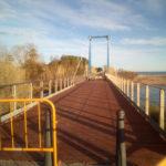 Cambrils inicia les obres de renovació del pont de fusta de la riera de Maspujols