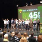 Unió de Pagesos celebra al Morell el seu 45è aniversari