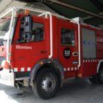 Un accident entre tres camions causa un petit núvol tòxic d'àcid clorhídric a Vila-seca