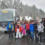 Una setantena de persones participen a l'esquiada del Morell