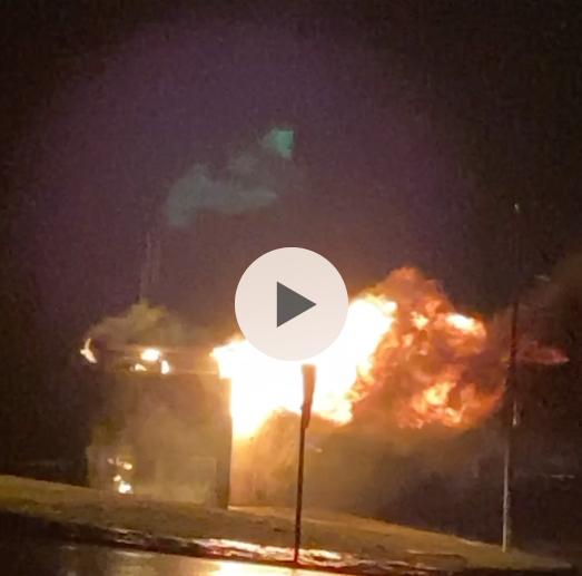 Un centre transformador d'Endesa s'incendia als Pallaresos