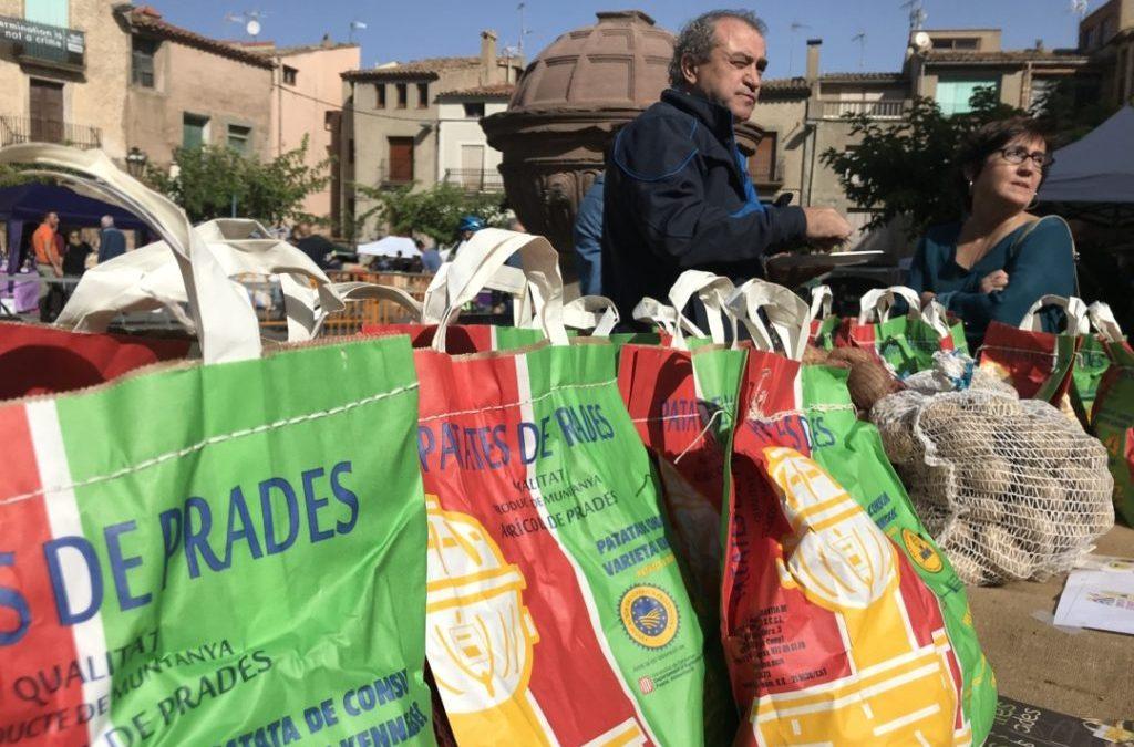 Els calçots, les avellanes, les patates de Prades i l'Oli de Siurana a la gala dels Premis Gaudí