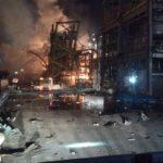 Un mort, sis ferits i pobles confinats en una explosió en una empresa química de Tarragona