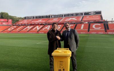 El Nàstic acorda un conveni de col·laboració amb Ecoembes per la correcta gestió de residus