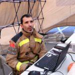 'Colpeix veure el nivell de destrossa quan arribes allí', relata un dels bombers que va treballar a l'explosió