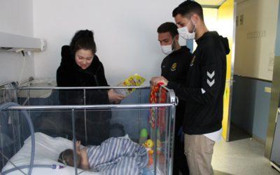 Visita als hospitals de Tarragona per iniciar l'any