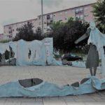 Comença la restauració del monument a la Sardana del barri de Sant Pere i Sant Pau