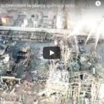 VÍDEO a vista de dron de la zona zero