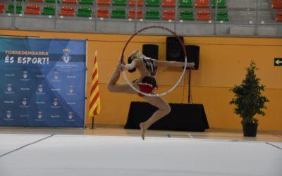 Torredembarra acull 450 gimnastes en competició oficial aquest diumenge