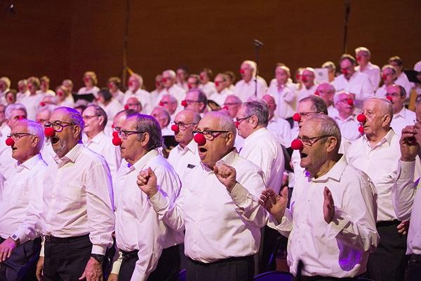La coral Gent Gran de Cambrils participa al concert Canta Gran a Barcelona