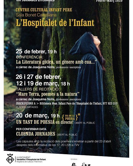 L'Hospitalet acollirà els mesos de febrer i març les VIII Jornades literàries