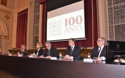 Arranquen els actes del centenari de l'Arxiu Històric Arxidiocesà