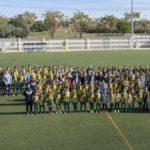 El Centre d'Esports Constantí presenta oficialment els equips del Futbol Base