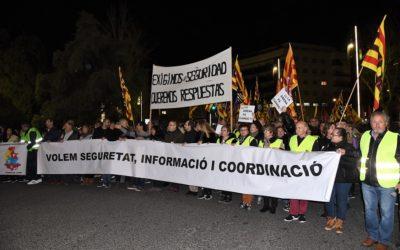 Més de 3.000 persones clamen per la seguretat de la indústria química a Tarragona