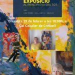 Inauguració de l'Exposició de Pintura de Dones Artistes Creixell