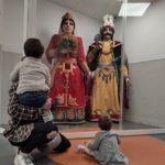 Gegants per animar els infants a les urgències pediàtriques de l'Hospital de Santa Tecla