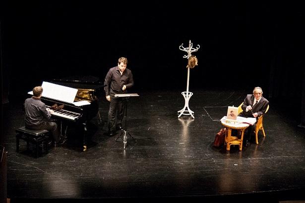 L'actor Ferran Frauca encarna al tenor Emili Vendrell, el proper divendres a l'Auditori de Vila-seca