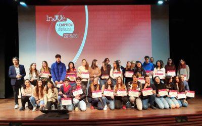Els Premis InJUè Emprèn Dipta fomenten  l'esperit emprenedor dels més joves