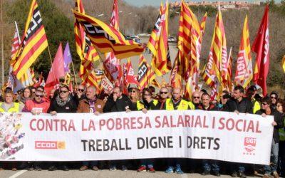 Els treballadors de la petroquímica reclamen més seguretat a les empreses en una vaga «massiva»
