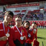 Triple victòria a la Fase Sevilla FC de LaLiga Genuine Santander