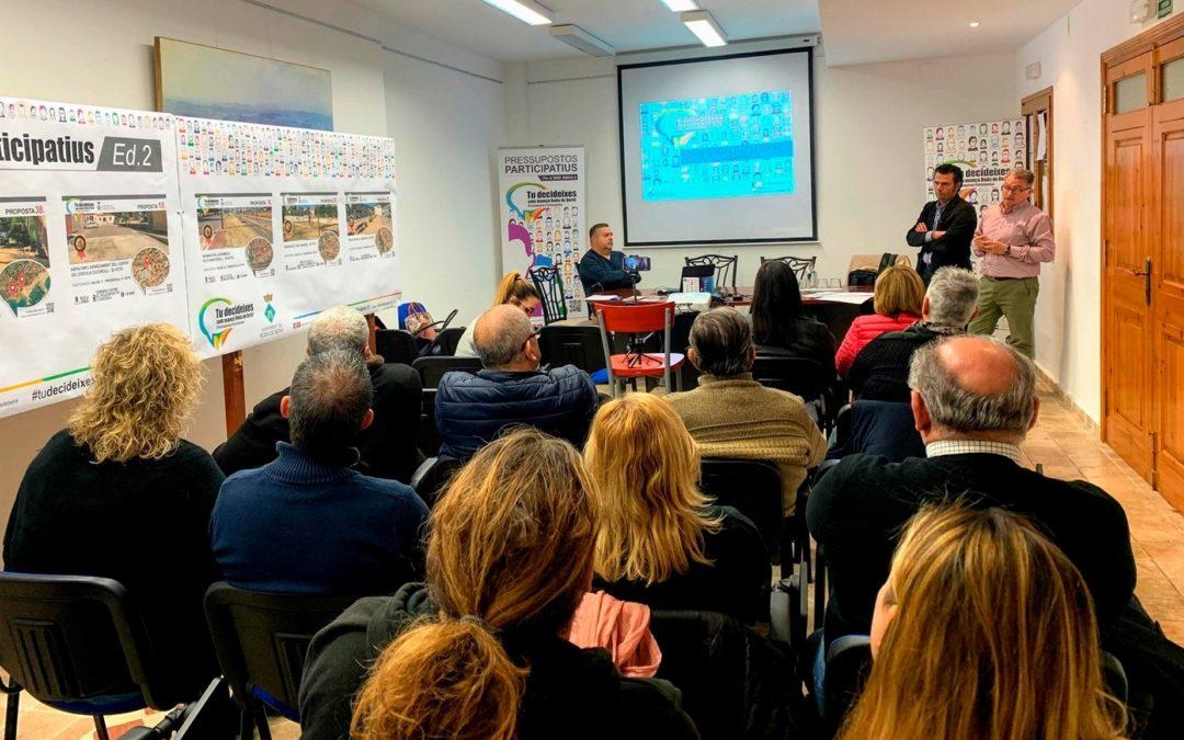 La ciutadania de Roda de Berà tria sis propostes dels Pressupostos Participatius