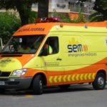 Mor un ciclista arran d'un xoc frontal amb un turisme a Pratdip