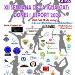 El Consell Esportiu del Tarragonès organitza la 12 edició Setmana de la Igualtat: dones i Esport