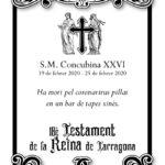 El coronavirus liquida la Concubina 26a de Tarragona