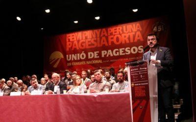 Unió de Pagesos reclama que la pagesia formi part d'una estratègia global de país