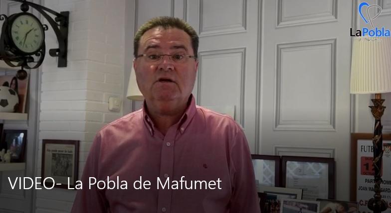 Vídeo de l'alcalde de La Pobla de Mafumet sobre el coronavirus