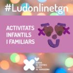 Les ludoteques dels Centres Cívics oferiran programació infantil online