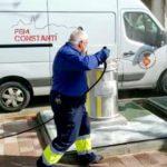 L'Ajuntament de Constantí intensifica les tasques de desinfecció de via pública i contenidors
