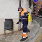 Torredembarra posa en marxa una acció especial de neteja i desinfecció de la via pública