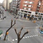 Guàrdia Urbana i Mossos surten amb megafonia pels carrers de Tarragona demanant confinament