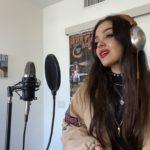 Carla Gibert, cantant cambrilenca a Los Angeles: 'Molta gent als EUA no es pren en serio el confinament'