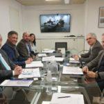 Granados reitera a Madrid la urgència de desmantellar les vies del tren