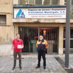 La comunitat xinesa lliura 600 màscares a l'Ajuntament de Tarragona